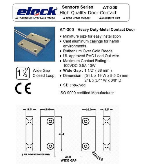 MAGNETIC CONTACTS Roller Shutter Magnet Overhead Door Contacts 4