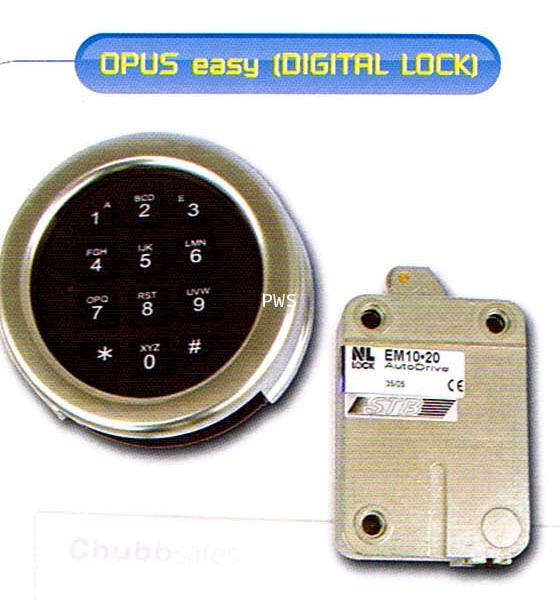 Digital lock opus 040 and Timelock 2 Movement