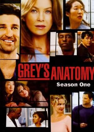 Grey\'s Anatomy Season 1/แพทย์มือใหม่หัวใจเกินร้อย ปี 1 (Sub Thai 2 แผ่นจบ)