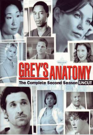 Grey\'s Anatomy Season 2/แพทย์มือใหม่หัวใจเกินร้อย ปี 2 (Sub Thai 6 แผ่นจบ)