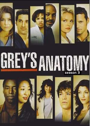 Grey\'s Anatomy Season 3/แพทย์มือใหม่หัวใจเกินร้อย ปี 3 (Sub Thai 7 แผ่นจบ)