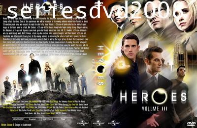 Heroes Season 3/ฮีโร่ ปี 3 (พากย์ไทย+พากย์อังกฤษ 6 แผ่นจบ)