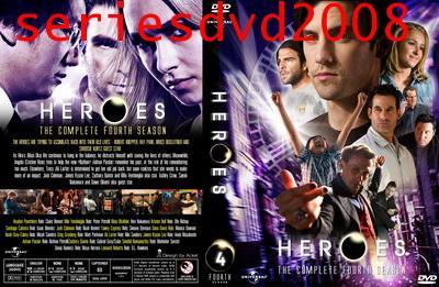 Heroes Season 4/ฮีโร่ ปี 4 (พากย์ไทย+พากย์อังกฤษ 5 แผ่นจบ)