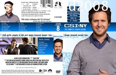 CSI New York Season 8 ไขคดีปริศนา นิวยอร์ค ปี 8 (พากษ์ไทย+อังกฤษ 6 แผ่นจบ)