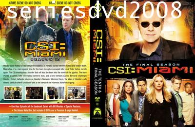 CSI Miami Season 10 ไขคดีปริศนา ไมอามี่ ปี 10 (พากษ์ไทย+อังกฤษ 6 แผ่น) Final Season