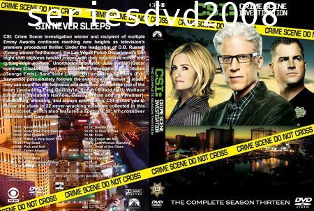 CSI Las Vegas Season 13 ไขคดีปริศนา เวกัส ปี 13 (พากษ์ไทย+อังกฤษ 6 แผ่นจบ)
