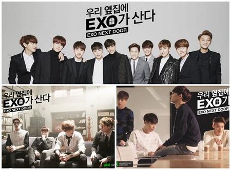 EXO Next Door (Sub Thai 1 แผ่นจบ) มินิซีรี่ย์