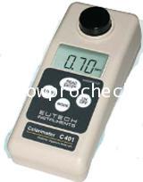 เครื่องวัดค่าคลอรีนทั้งหมดและคลอรีนอิสระและpHและ กรดไซยานูริค  Eutech รุ่น C401** ยกเลิกการผลิต
