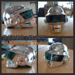 Thomas helmet Daftpunk