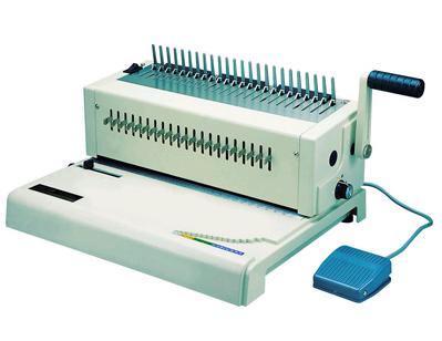 เครื่องเจาะกระดาษไฟฟ้าและเข้าเล่มแบบมือโยก รุ่น RIESA (เจาะกระดาษ 20 แผ่น / ครั้ง)