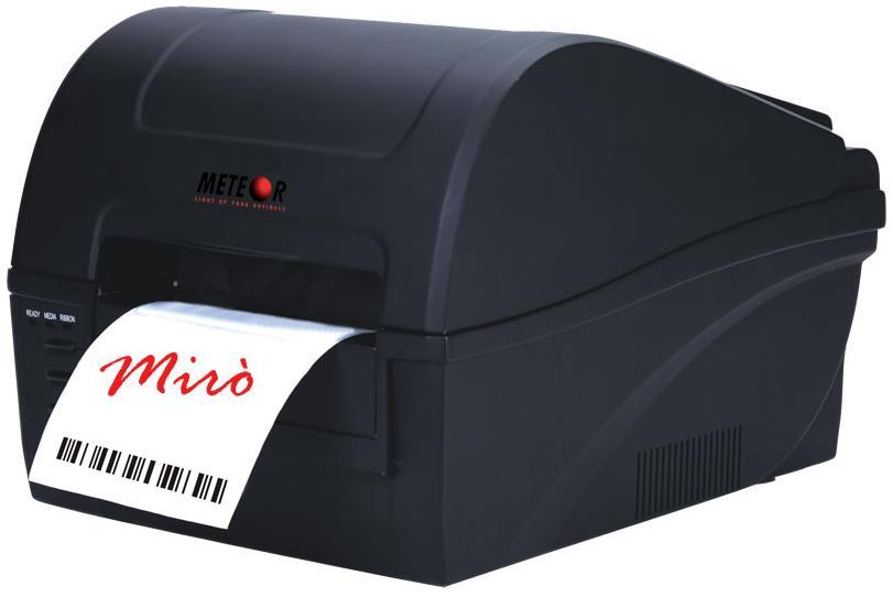 เครื่องพิมพ์บาร์โค้ด METEOR รุ่น MIRO