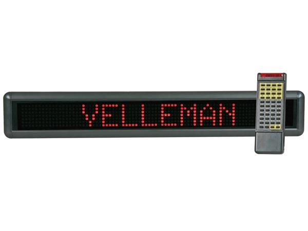 ป้ายไฟวิ่ง Velleman รุ่น MML16R