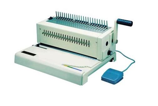 เครื่องเจาะกระดาษไฟฟ้าและเข้าเล่มมือโยก รุ่น RIESA (รีซ่า)