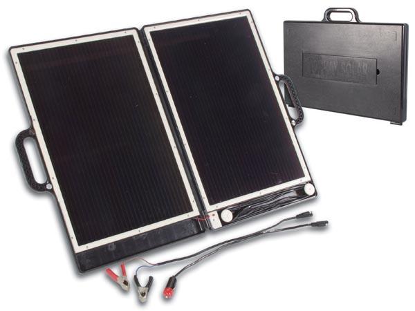 เครื่องชาร์จ โดยใช้ แผงพลังงานแสงอาทิตย์ แบบพับใส่กระเป๋า รุ่น SOL8