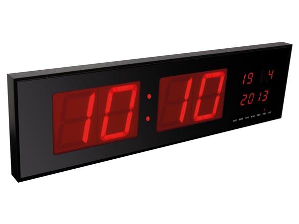 นาฬิกาดิจิตอล LED ขนาดใหญ่ (ไฟสีแดง) รุ่น WC235RL