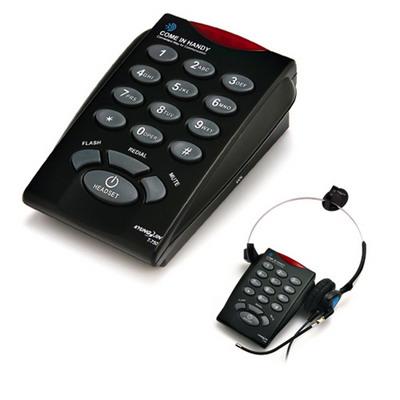 โทรศัพท์ + ชุดหูฟัง Call Center Headset รุ่น T-760