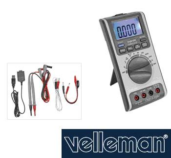 มัลติมิเตอร์ Velleman รุ่น DVM1200