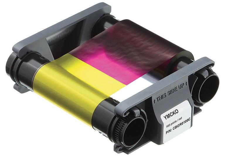 ตลับหมึก เครื่องพิมพ์บัตรพลาสติก Evolis รุ่น Badgy100 และ Badgy200