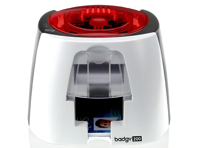 เครื่องพิมพ์บัตรพลาสติก Evolis รุ่น Badgy 200