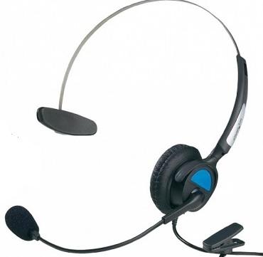 หูฟัง Callcenter รุ่น KJ-97 (ไมค์ + หูฟังข้างเดียว)