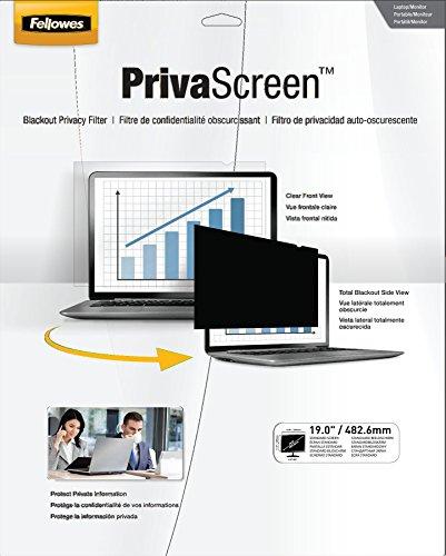 แผ่นจอกรองแสงป้องกันการมองด้านข้าง Fellowes รุ่น PrivaScreen ขนาด 14 นิ้ว