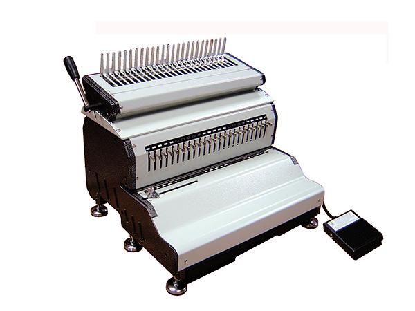 เครื่องเจาะกระดาษไฟฟ้าและเข้าเล่มมือโยก รุ่น Mac comb240E