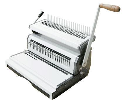 เครื่องเจาะกระดาษมือโยกและเข้าเล่มมือโยก รุ่น Mac comb 240