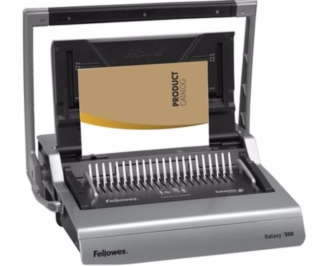 เครื่องเจาะกระดาษมือโยกและเข้าเล่มมือโยก Fellowes รุ่น Galaxy 500