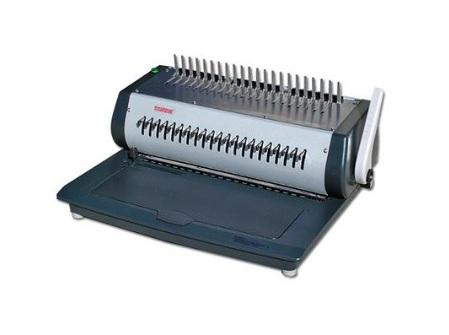 เครื่องเจาะกระดาษไฟฟ้าและเข้าเล่มมือโยก รุ่น TCC-2100E