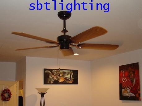 พัดลมเพดานภายใน ใบพัดไม้สัก