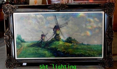 ภาพวาดสีน้ำมันเก่า งานยุโรป