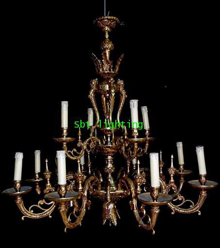 โคมไฟทองเหลือง ทองสำริด งานสเปน