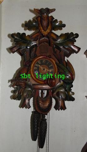 นาฬิกาแขวนผนังโบราณ เยอรมัน (นาฬิกากุ๊กกู)