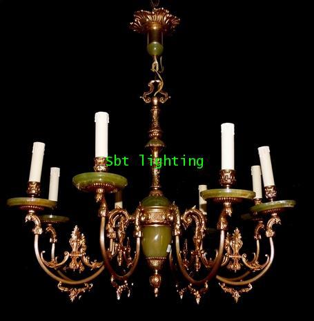 โคมไฟ ยุโรปงานทองเหลืองเก่า