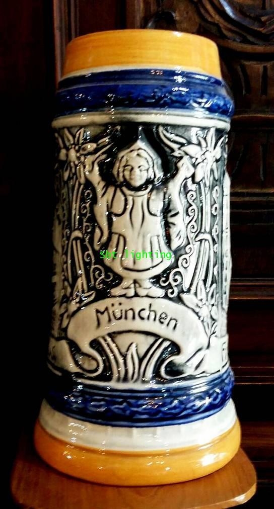 แก้วเบียร์ Porcelain เยอรมัน