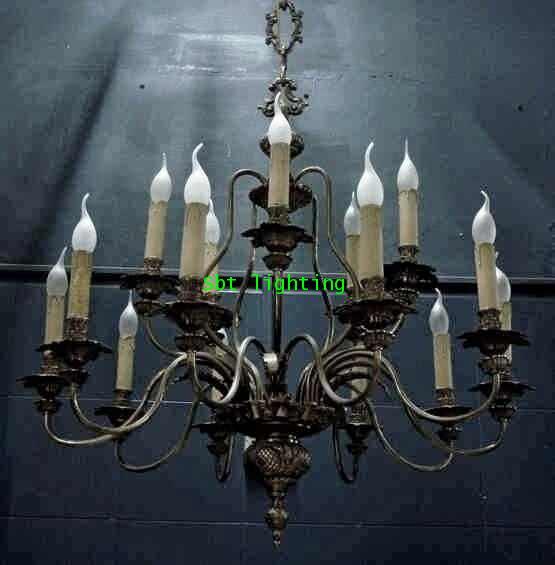 โคมไฟยุโรป silver plate งานอิตาลี
