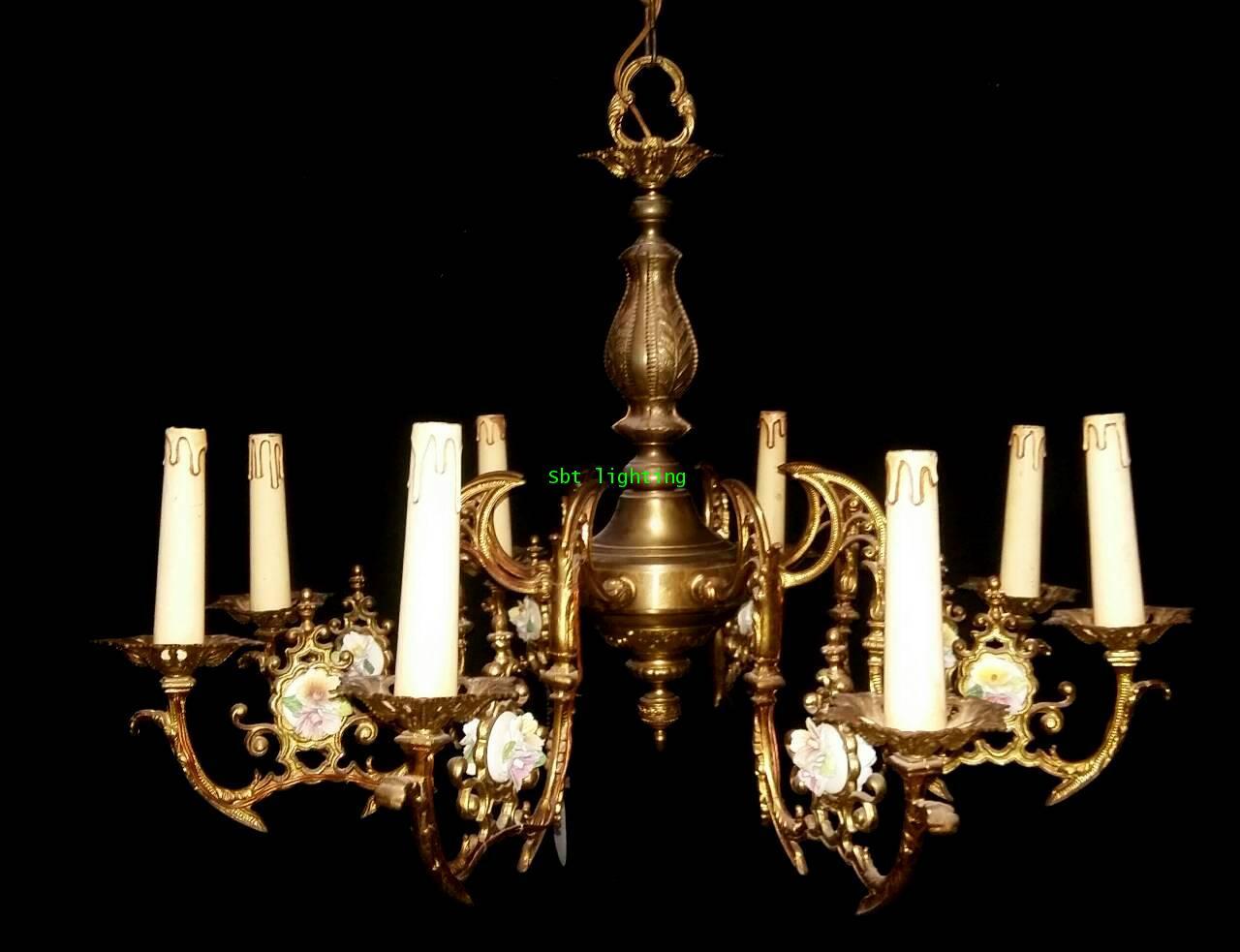 โคมไฟทองเหลือง งานอิตาลี 1