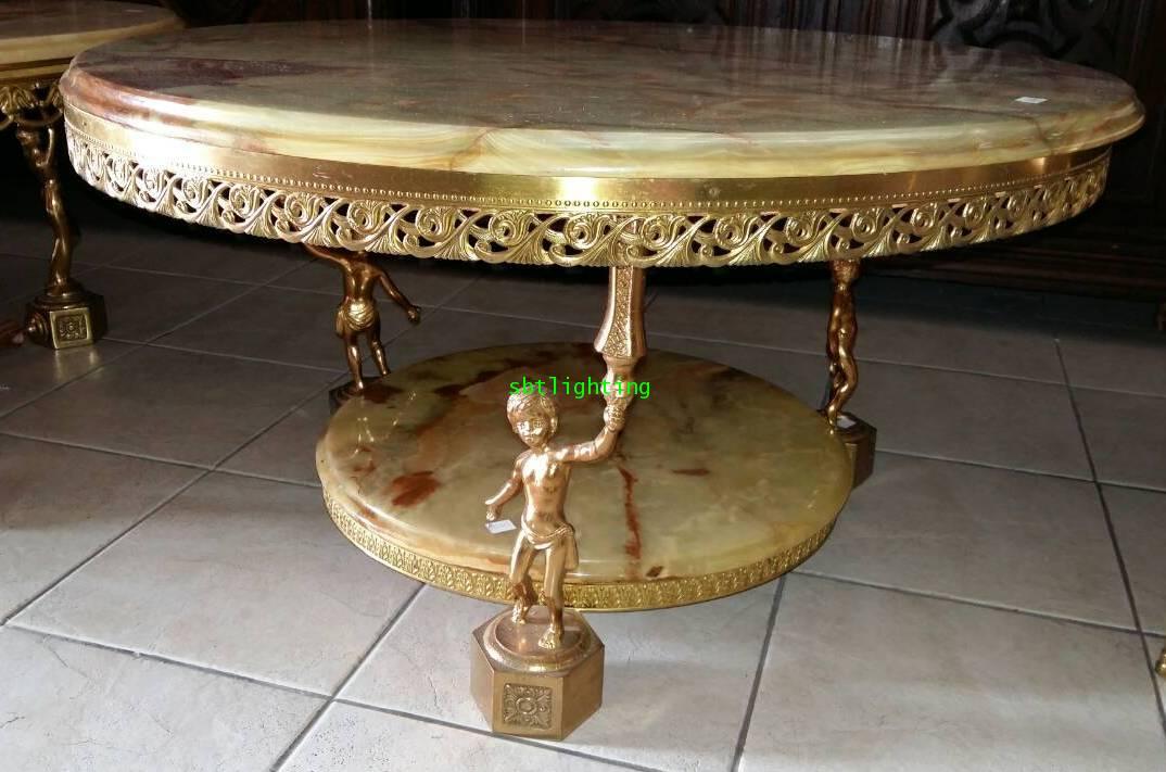 โต๊ะหินอ่อนอิตาลี งานยุโรปนำเข้า
