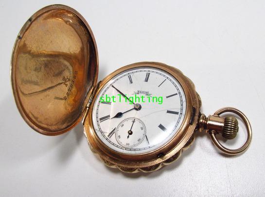 นาฬิกาพกโบราณ งานอเมริกา ของ ELGIN  ผลิต ปี ค.ศ 1888