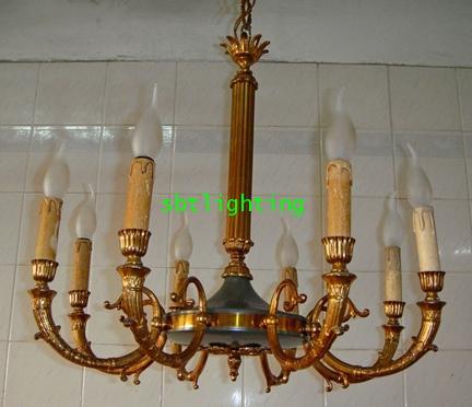 โคมไฟ ยุโรปงานโบราณ อิตาลีสไตล์ฝรั่งเศส