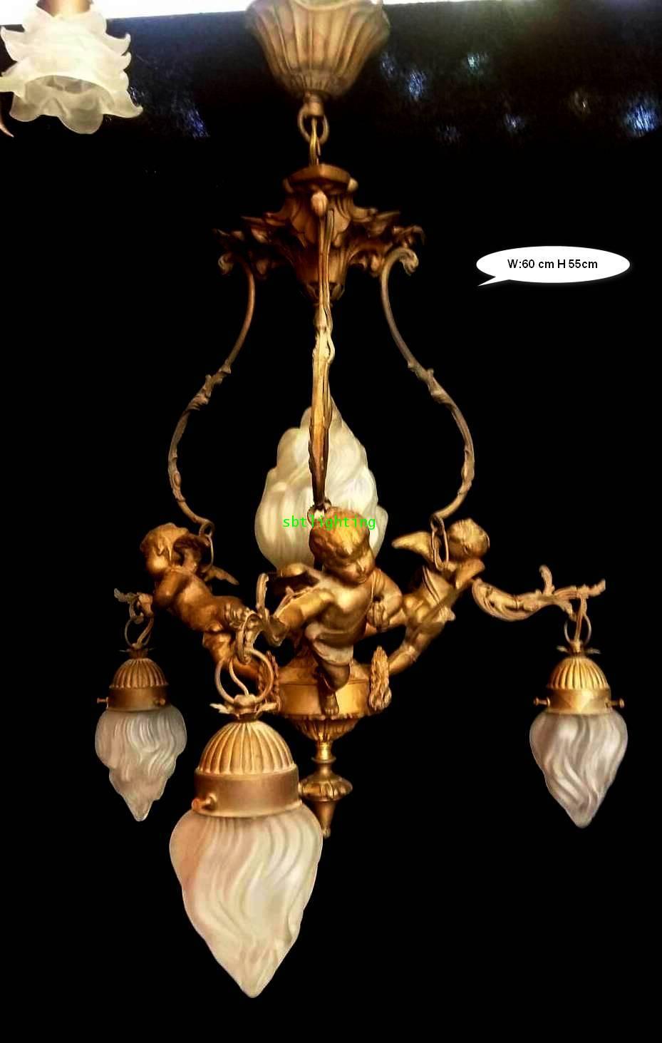 โคมไฟ ยุโรปงานฝรั่งเศส  แบรนด์ เอ็มไพร์ส