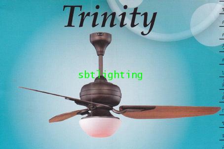 พัดลมเพดาน สไตล์ลอฟ   ขนาดใหญ่  พร้อมควบคุมด้วยรีโมท ปิดพัดลมและโคมไฟ