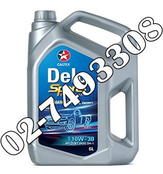 น้ำมันเครื่องดีเซล Delo® Sports Synthetic Blend SAE 10W-30
