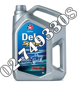 น้ำมันเครื่องดีเซล และเอสยูวี Delo® Sports Synthetic Blend SAE 15W-40