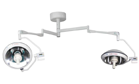 Double Dome Halogen Shadowless Operating Lamp รุ่น LW700/500 ผลิตภัณฑ์ Lewin