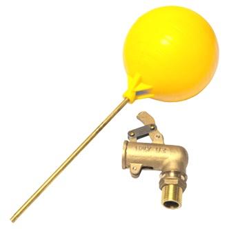 ลูกลอยแทงค์น้ำ ข้องอ ทองเหลือง ITALY