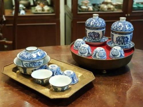 รับซื้อชุดน้ำชาเก่า ชุดน้ำชา จปร