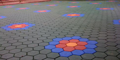 บล็อกปูพื้นหกเหลี่ยม 4