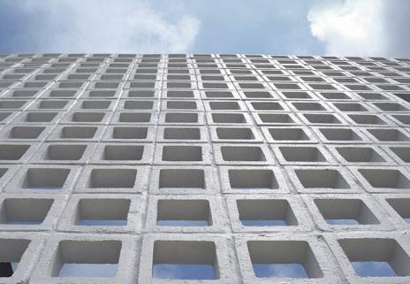 บล็อกช่องลมสี่เหลี่ยมจัตุรัสสี่ช่อง 20 x 20 x 9 cm. 1