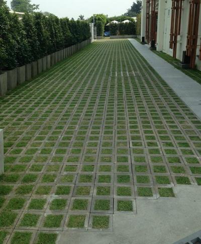 บล็อกปลูกหญ้ารุ่นโมเดิร์นสี่เหลี่ยมจัตุรัส 2